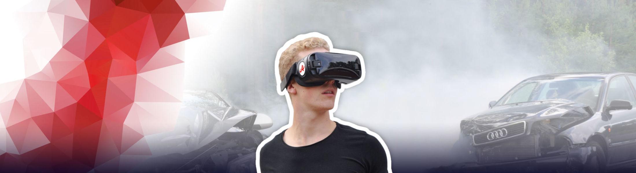 Ensimmäisenä Suomessa VR-teknologia mukana ensiapukoulutuksissa!
